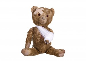 diseased teddybear
